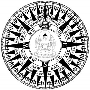 Compass Buddha