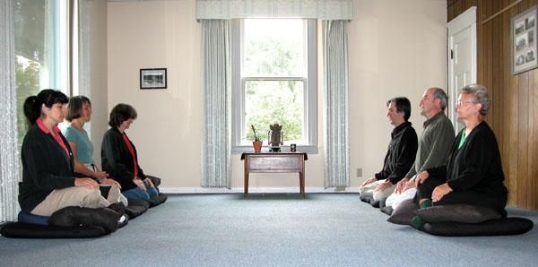 Reeser House as meditation hall 2005